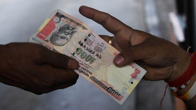 नोटबंदी, 500 और 1000 के नोटों पर रोक