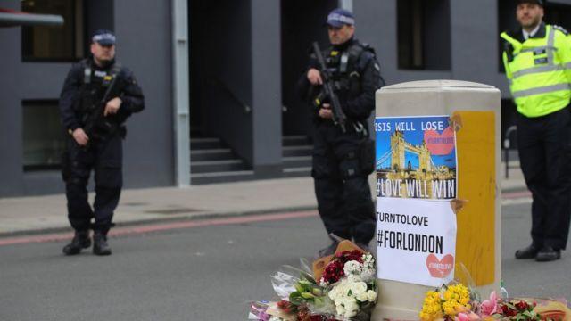 London, polisi, teror