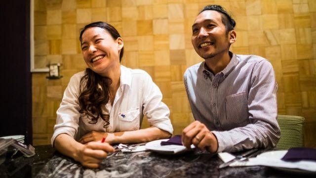 益子氏は妻の早苗氏と事業を営んでいる