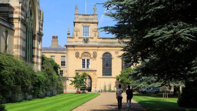 Тринити-колледж в Оксфорде.