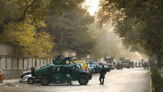 حمله به دانشگاه کابل