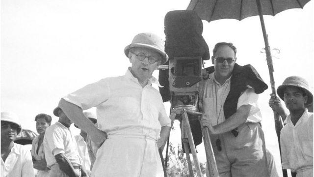 1937లో భారత్లో ఓ సినిమా చిత్రీకరణలో పాల్గొన్న జోసెఫ్ విర్షింగ్ (కుడివైపు కెమెరా పక్కన ఉన్న వ్యక్తి)