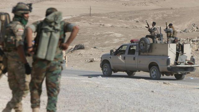 Oktyabrdan Qayyarah-da polis döyüşlərə cəlb olunub