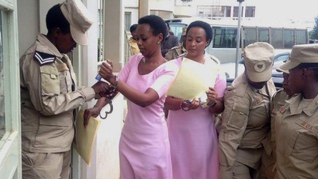 Diane na mama wiwe Adeline Rwigara