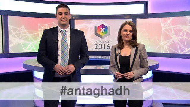 Iain MacAonghais agus Angela NilIlleathain