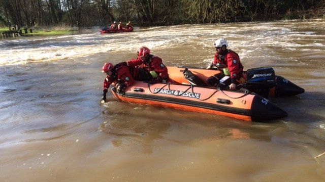 River Wey search