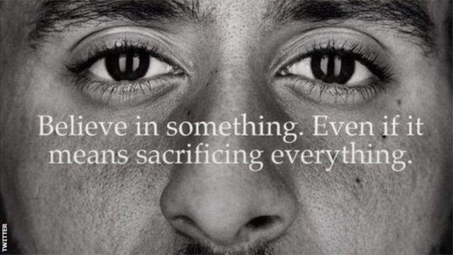 Aptitud Pacífico rápido  Colin Kaepernick y Nike: conoce al deportista estadounidense más  controversial del momento - BBC News Mundo
