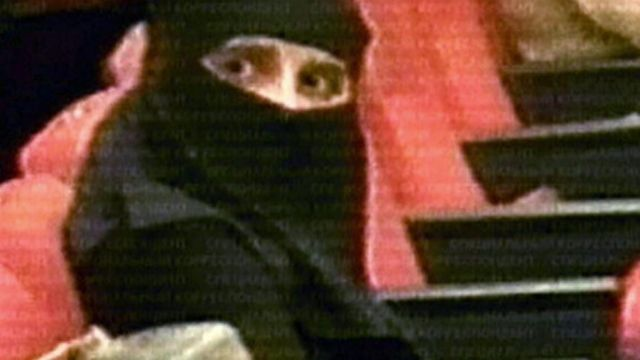 Painting of a terrorist