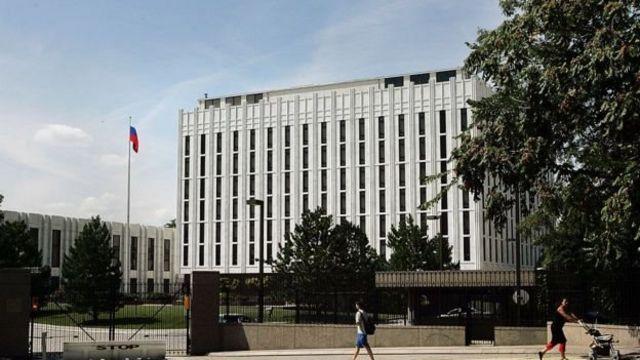 Abarusiya muri embassade ya Washington DC birukanywe