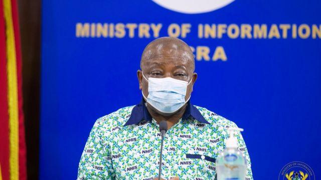 Ghana Health Minister, Kwaku Agyeman Manu