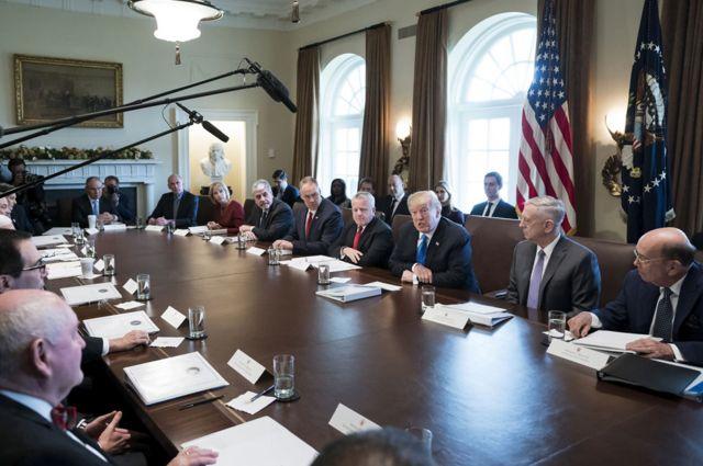 Sastanak Trampovog kabineta