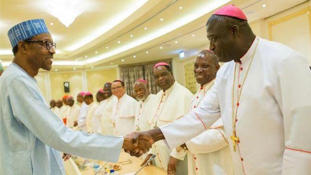 Buhari ati awọn alufaa ijọ Aguda
