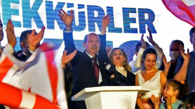 Ersin Tatar, Kuzey Kıbrıs Cumhurbaşkanı seçildi - BBC News Türkçe