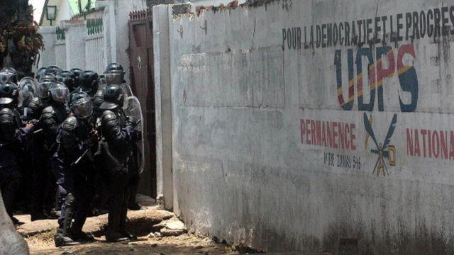RDC, police, UDPS
