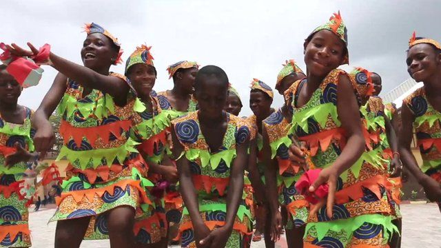 Igbo day dancers