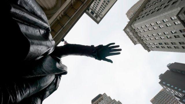 Estatua en Wall Street