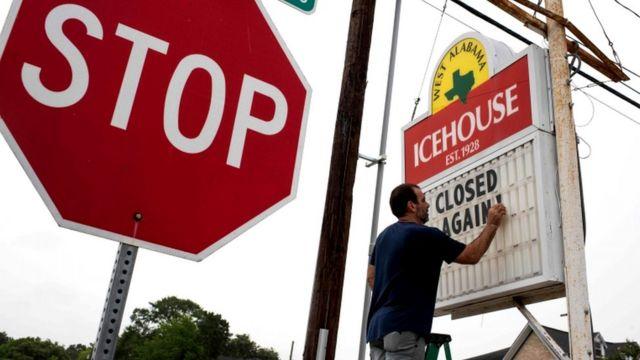 Алабама, бар вновь закрыт