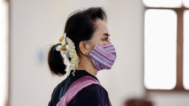 Aung San Suu Kyi niwe mutegetsi mukuru wa Myanmar