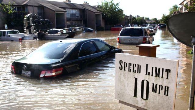 Такие наводнения, как в Техасе, к 2050 году могут стать обычным делом