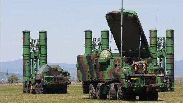 عکس آرشیوی از سامانه اس ۳۰۰ ساخت روسیه