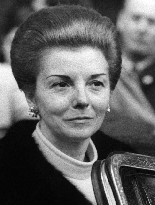 Retrato de Isabel Martínez de Perón en 1976.