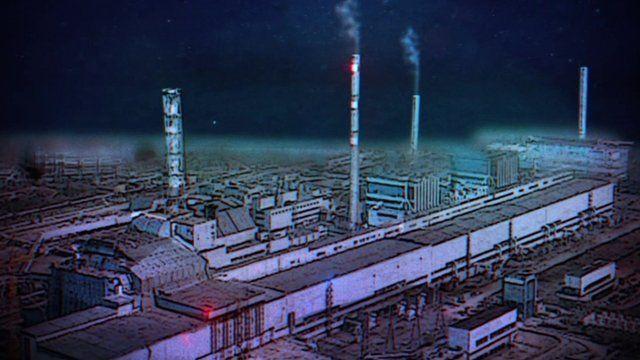 Animation of Chernobyl