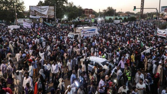 sudan protesto