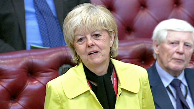 Labour peer Baroness Hayter sacked for 'last days of Hitler' jibe