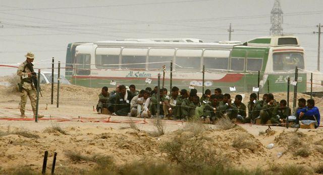 Лагерь Букка в Ираке