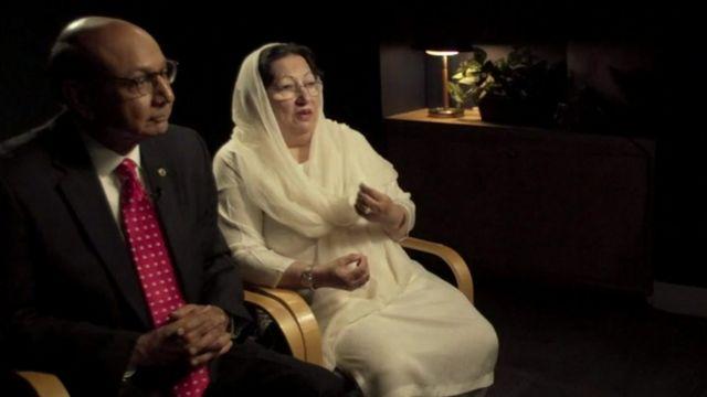 Khizr y Ghazala Khan