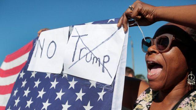Протесты в Детройте