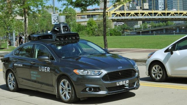 Uber joins race for driverless cars