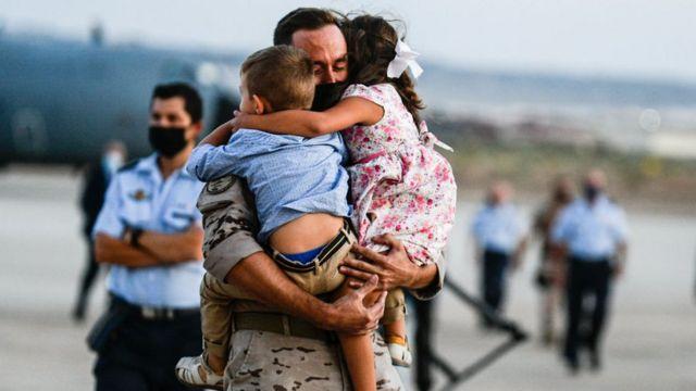 سربازان اروپایی بسیاری تا آخرین روزها در افغانستان بودند