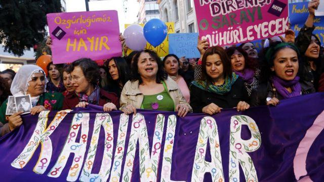 مسيرة للمعارضة التركية