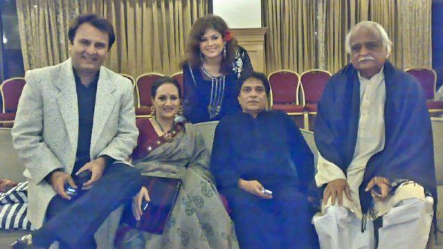 انور مقصود، معین اختر، مشی خان، بشری انصاری اور بہروز سبزواری