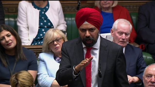 The Labour MP for Slough, Tanmanjeet Singh Dhesi, demanded with great passion that the PM apologise for comments he made a while ago in a newspaper article comparing Muslim women to letterboxes