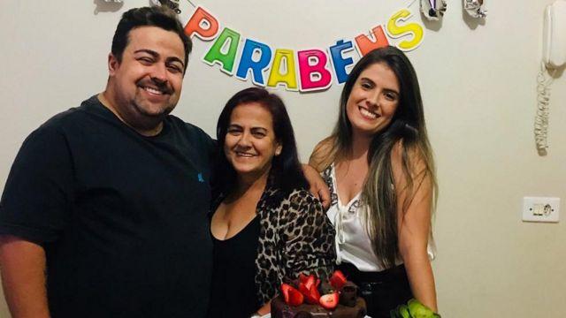 Marta Borges e filhos
