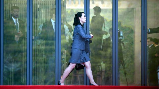 (캡션) 김여정 노동당 중앙위 제1부부장