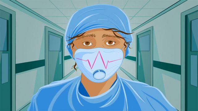 Virus corona: Dokter yang tangani pasien Covid-19 pakai 'kantong sampah dan  celemek di kepala' di unit perawatan intensif Inggris - BBC News Indonesia