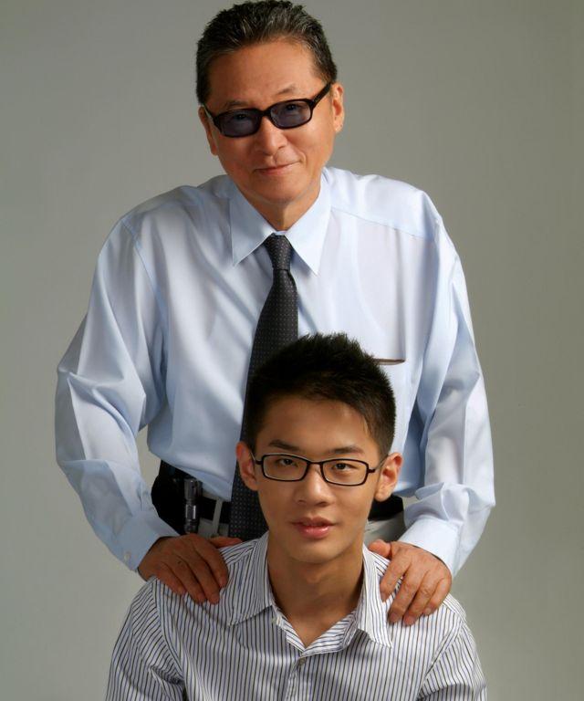 李戡与父亲李敖。