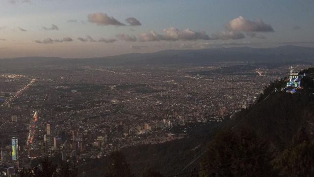 أحد جبال كولومبيا