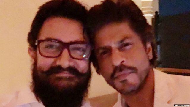 आमिर आणि शाहरुख खान
