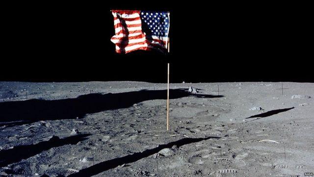 Landing fake moon The Apollo