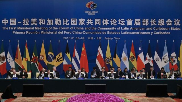 Cumbre de la Celac con China.