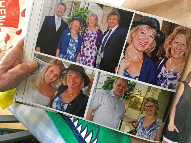 Фотография из семейного альбома во время визита Ирины Ломтевой к родственникам в Великобританию
