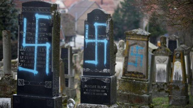 یہودی قبروں کی بے حرمتی