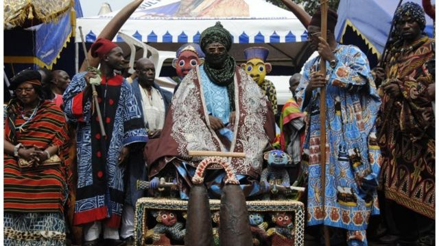 Le roi des Bamouns est une figure respectée au Cameroun