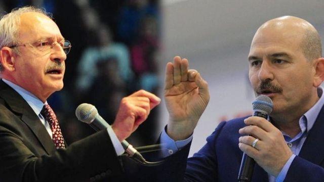 Kemal Kılıçdaroğlu ve Süleyman Soylu