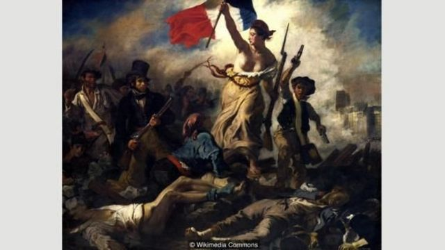 Özgürlük - Delacroix