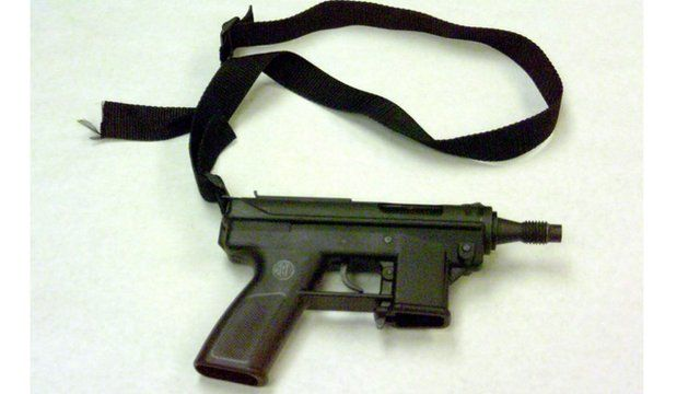 Weapon used in Columbine